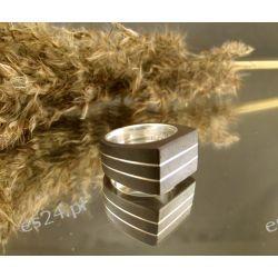 Pierścionek - Elegant bronze
