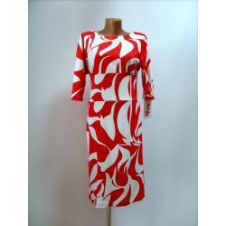 sukienka biało czerwona  'ADIKA COLLECTION'roz.40