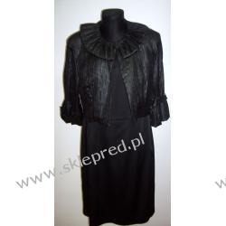 """Sukienka z bolerkiem czarna roz.40 i 44 """"ZOFIX"""""""