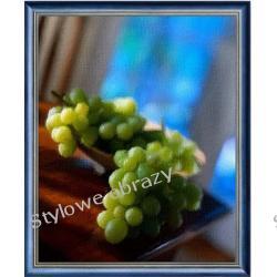 Martwa  natura z winogronami