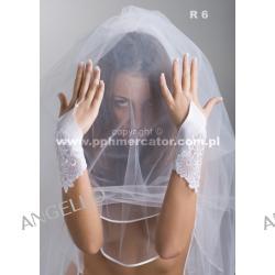 Rękawiczki ślubne R 6