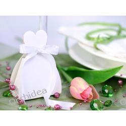 Pudełeczka dla gości sukienka