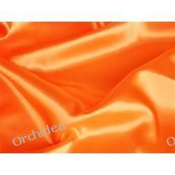 Dekoracje ślubne - materiał kolor : świeży pomarańcz