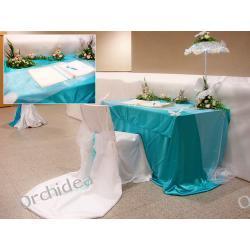 Dekoracje ślubne - Królowa Śniegu