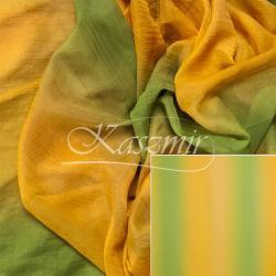 Woal cieniowany gładki żółto-zielony 150 cm...
