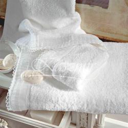 Markowe ręczniki TAC ESCALA WHITE - komplet...