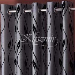 Gotowa zasłona na przelotkach Wrathful patterns kuszący popiel 150x250...
