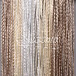 Makarony cieniowane odcienie beżu i ecri 250x145 + woreczek...