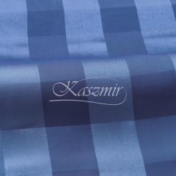 Zasłonka na szelkach w pasy Koleżanka Brecji kolor niebieski 250x145...