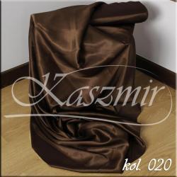 Tkanina zasłonowa SZANTUNG 150 cm kol 020 ciemny brąz gorzka czekolada...
