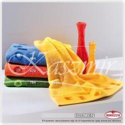 Ręczniki haftowane BLUMEN kolor pomarańczowy 50x90...