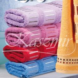 Ręczniki haftowane VIENAS kolor fioletowy 50x90...