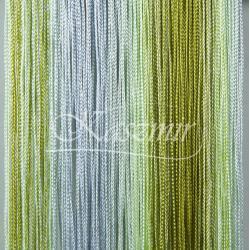 Makarony cieniowane odcienie zieleni 250x145 + woreczek...