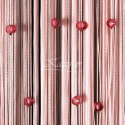 Makarony z koralikami różowe koraliki, łososiowy makaron 160x295...
