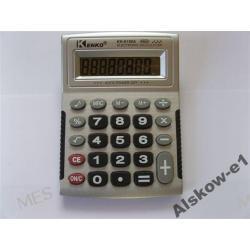 kalkulatory,kalkulator biurkowy duży z sygnałem