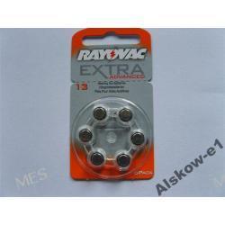 Oryginalne baterie RAYOVAC extra-13 komplet 6 szt