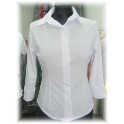 Biała klasyczna bluzka bluzeczka 48,48,48,48 Nowa