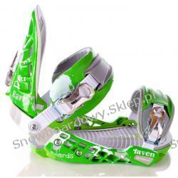 Wiązania Raven S600 Green/Silver/White 2012