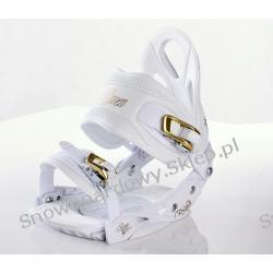 WIĄZANIA RAVEN S300 White/Gold 2012