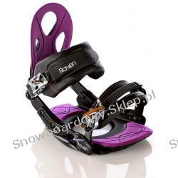 WIĄZANIA RAVEN S350 Black/Violet S/M 2012