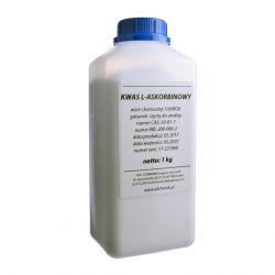 [2008] Kwas L-askorbinowy - WITAMINA C, gat. CZYSTY DO ANALIZY, CZDA - 1 kg Stanlab