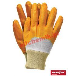 Rękawice robocze ochronne RECONIT roz. 8 - 1 para Pozostałe