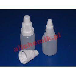 Butelka z dozownikiem i nakrętką z plombą 10 ml - 500 szt Laboratorium