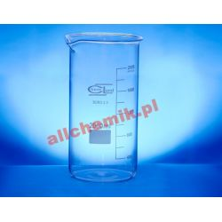 [0749] Zlewka szklana wysoka z wylewem 250 ml - 1 szt Nieskategoryzowane
