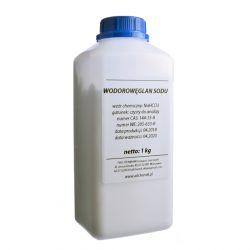 [1721] Wodorowęglan Sodu - Soda Oczyszczona gat. CZYSTY DO ANALIZY - 1 kg Nieskategoryzowane