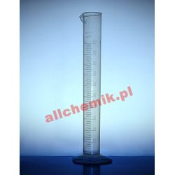[2309] Cylinder miarowy PP z wylewem, skala tłoczona 1000 ml - 1 szt Pozostałe