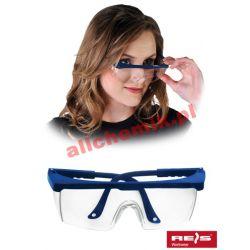Okulary ochronne przeciwodpryskowe GOG FRAFOG - 1 para