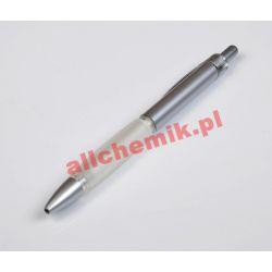 Długopis automatyczny plastikowy typu ZENITH, niebieski - 1 szt Laboratorium