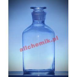 [2375] Butelka szklana z korkiem wąska szyja 250 ml - 1 szt Nieskategoryzowane