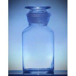 [1084] Butelka szklana z korkiem szeroka szyja 500 ml - 1 szt Laboratorium