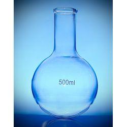 Kolba szklana okrągłodenna wąska szyja - 50 ml