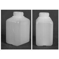 Butelka HDPE z nakrętką z plombą 500 ml - 1 szt Pozostałe