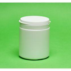 [3020] Pojemnik apteczny HDPE, wieczko ze zrywką 400 ml - 1 szt Nieskategoryzowane