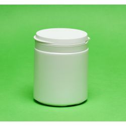 [3020] Pojemnik apteczny HDPE, wieczko ze zrywką 400 ml - 5 szt Pozostałe