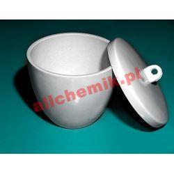 [2965] Tygiel porcelanowy z przykrywką - 70 ml Nieskategoryzowane