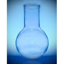 [2968] Kolba szklana okrągłodenna szeroka szyja - 50 ml Okulary i gogle