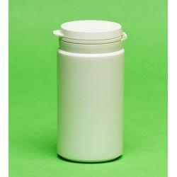 [3035] Pojemnik apteczny HDPE, wieczko ze zrywką 100 ml - 10 szt Nieskategoryzowane