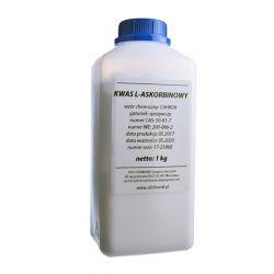 Witamina C - 100% Kwas L-askorbinowy spożywczy 1 kg Laboratorium