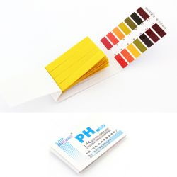 [3311] Paski do pomiaru pH uniwersalne 1-14 / 10 op x 80 pasków