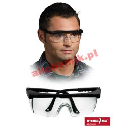 Okulary ochronne przeciwodpryskowe GOG FRAMEB - 12 par
