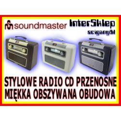 STYLOWE RADIO PRZENOŚNE KUFER CD MP3 FM BOOMBOX
