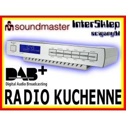 DAB+ FM CYFROWE PODWIESZANE RADIO KUCHENNE