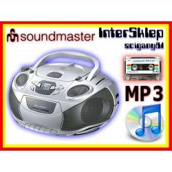 #2 NIEMIECKI BOOMBOX RADIO CD MP3 KASETA PRZENOŚNY