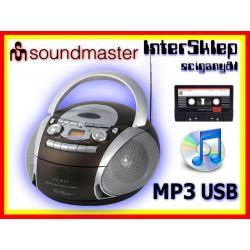 7# BOOMBOX RADIO CD MP3 USB KASETA AUX IN