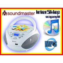 BOOMBOX PRZENOŚNY RADIO CD MP3 USB SIMPSONOWIE