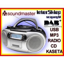 *BOOMBOX CYFROWY RADIO DAB+ FM CD MP3 CD